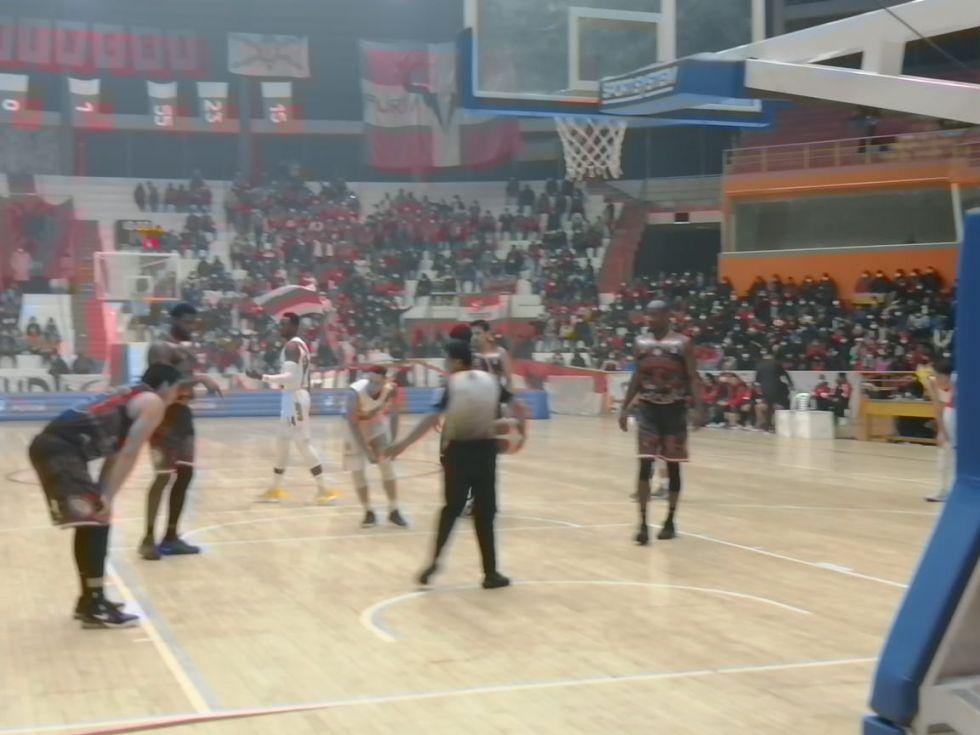 Al finalizar los cuatro cuartos, ambos equipos terminaron empatados.