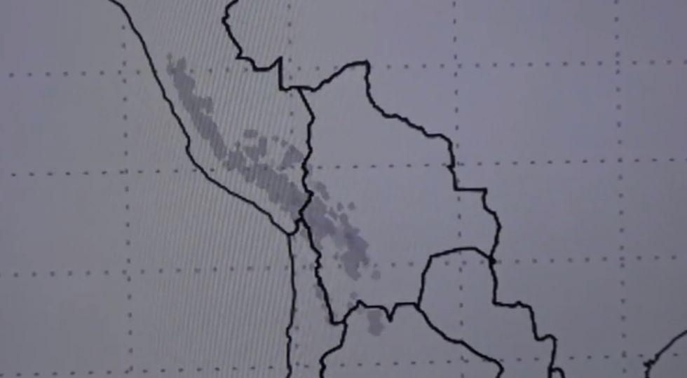 Hay alerta por nevada en el Departamento de Potosí
