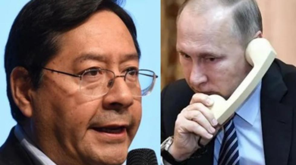 Covid-19: Arce y Putin conversan sobre suministro de la vacuna Sputnik-V