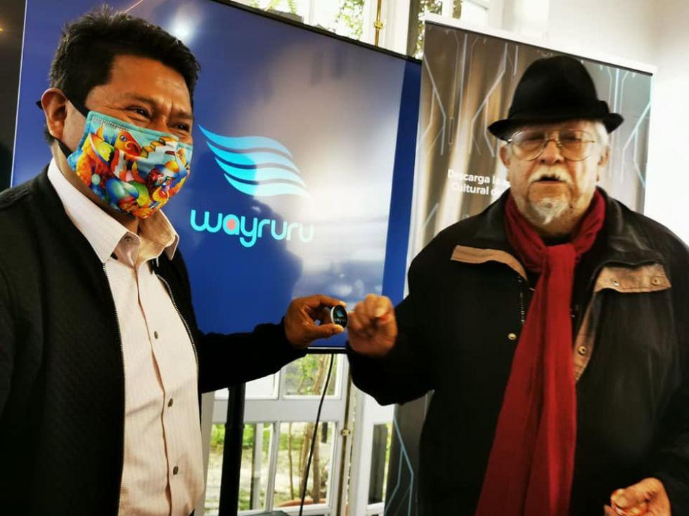Wayruru da continuidad al proceso de virtualidad de la fundación.