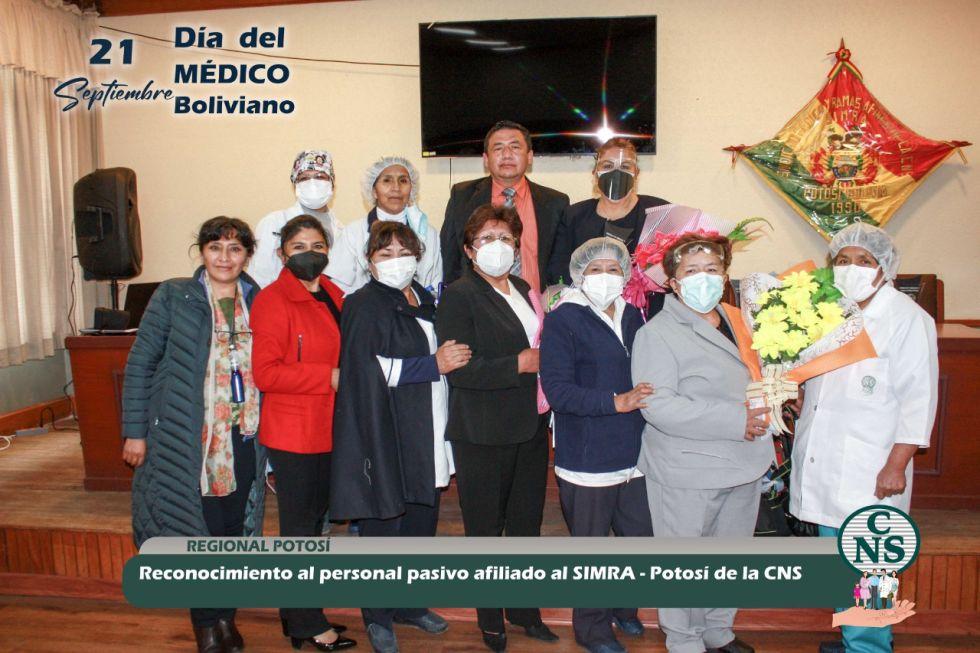 Destacan trayectoria de profesionales en salud de la CNS Potosí