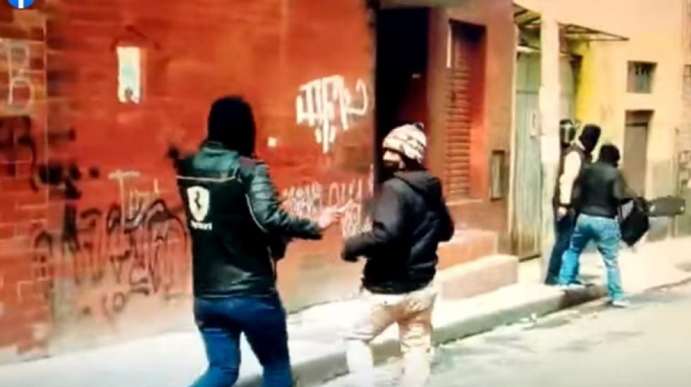Reportan que civiles encapuchados protegidos por la Policía que operaron en la represión a los cocaleros