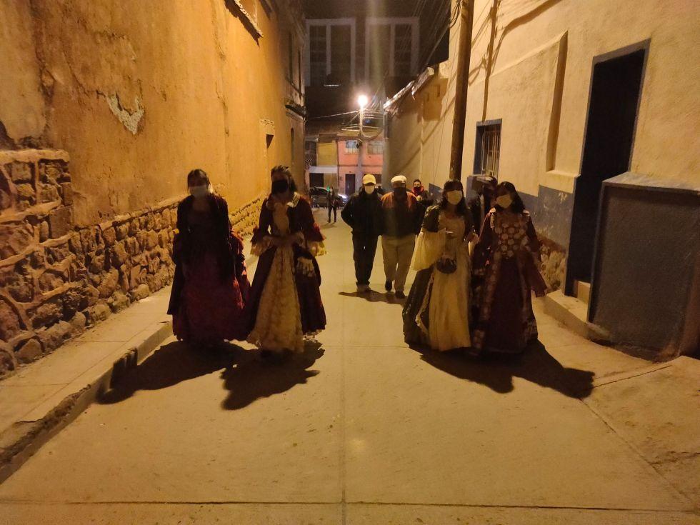 """Por dos noches se realizó la """"Noche de Museos de San Roque"""" para revalorizar los atractivos de la zona y relatos de los vecinos."""
