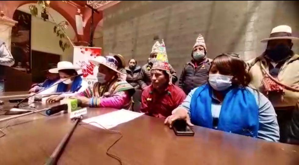 Organizaciones sociales afines al MAS rechazan paro cívico de 48 horas