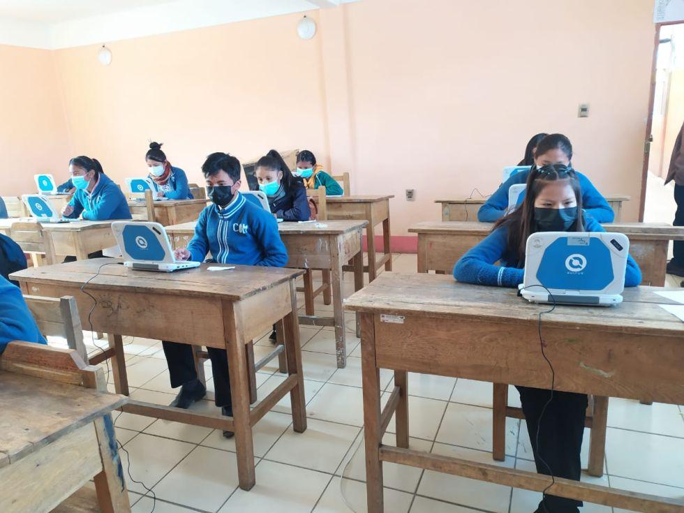 Olimpiadas científicas se desarrollan en dos modalidades en Potosí