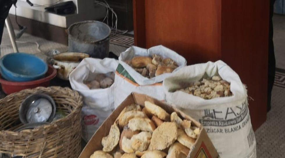 Encuentran hasta ratones muertos en operativos de control a hornos en La Paz