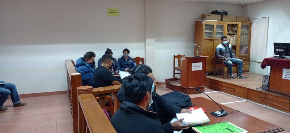 Justicia dispuso el traslado de Yassir Molina a Oruro