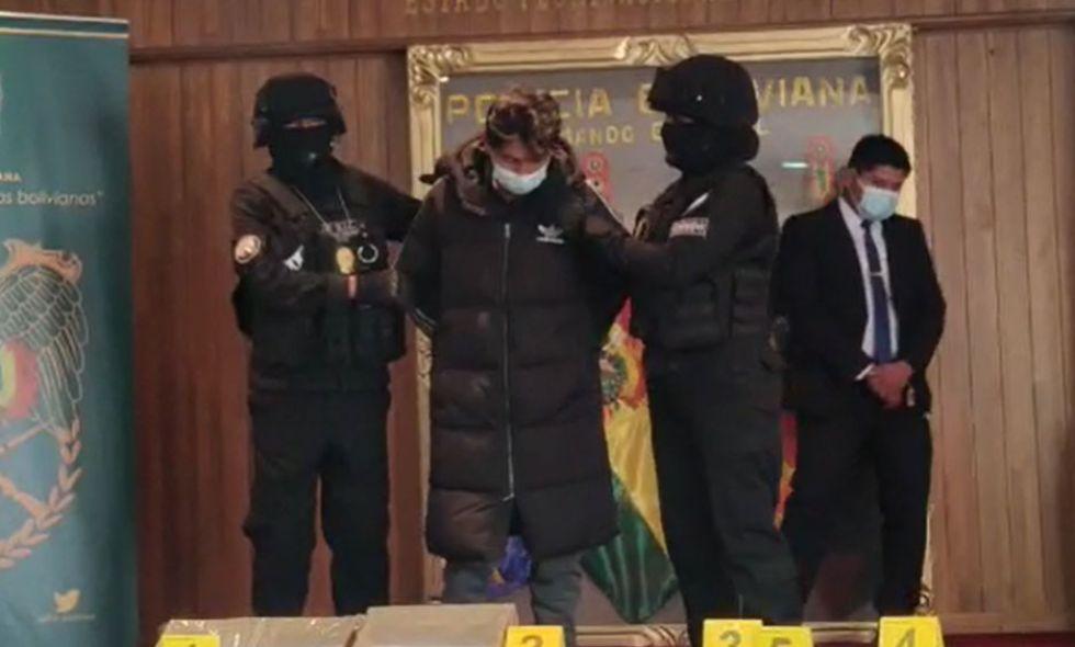 Envían a Chonchocoro al acusado por el feminicidio de Milenka en La Paz