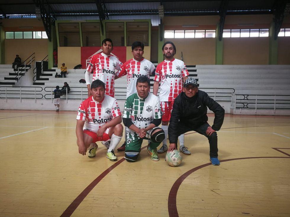 El quinteto de el diario El Potosí.