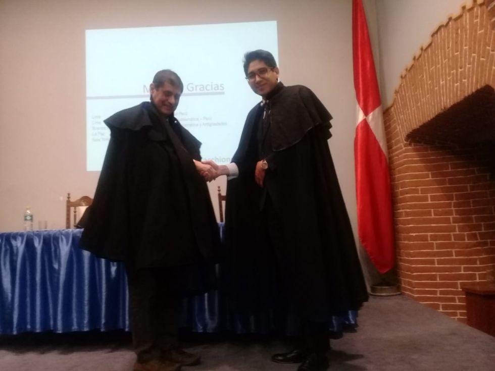 El acto se realizó en la Casa de Moneda.
