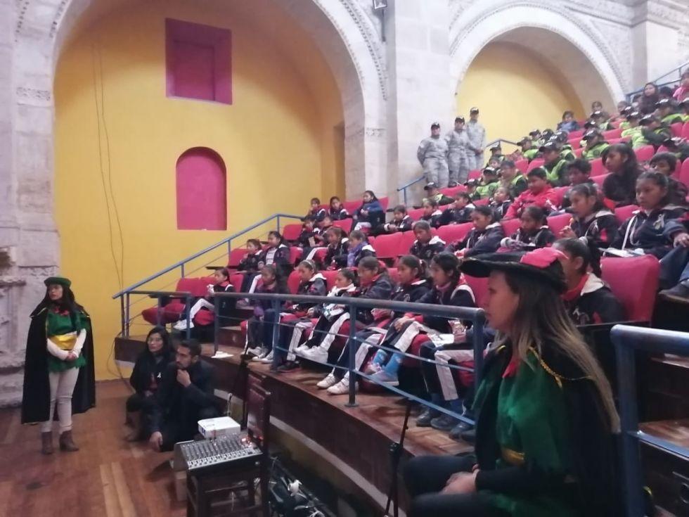 El personal de las Defensorías de las Niñez y Adolescencia organizó algunas actividades.