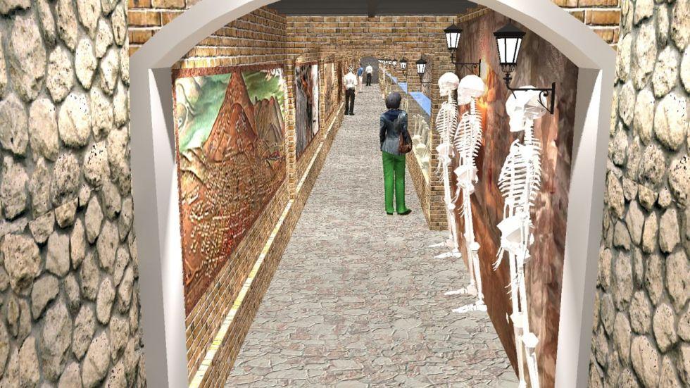 """Será construido en """"la calle de la pulmonía""""."""