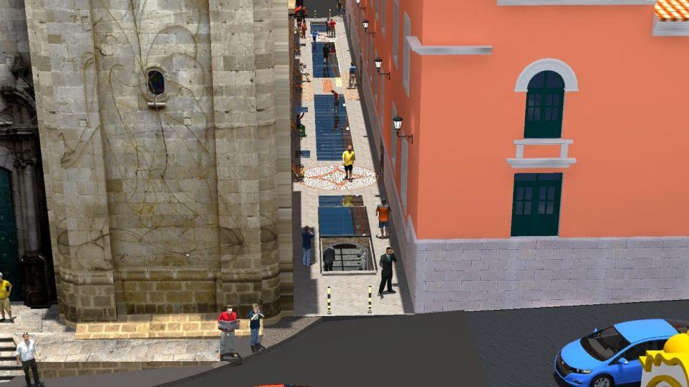 Así será el museo subterráneo de la calle Junín