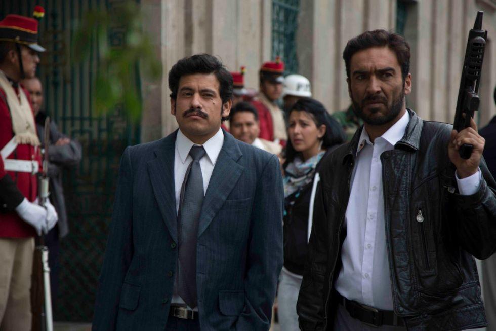 Carlos (padre) y el argentino.