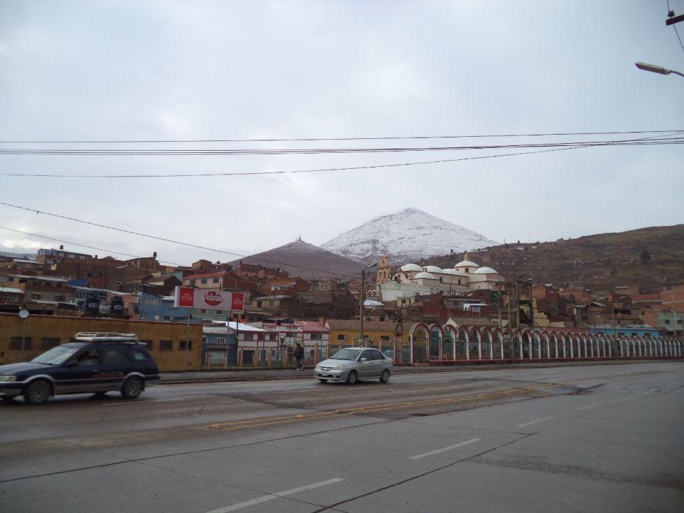El frío permanece en Potosí
