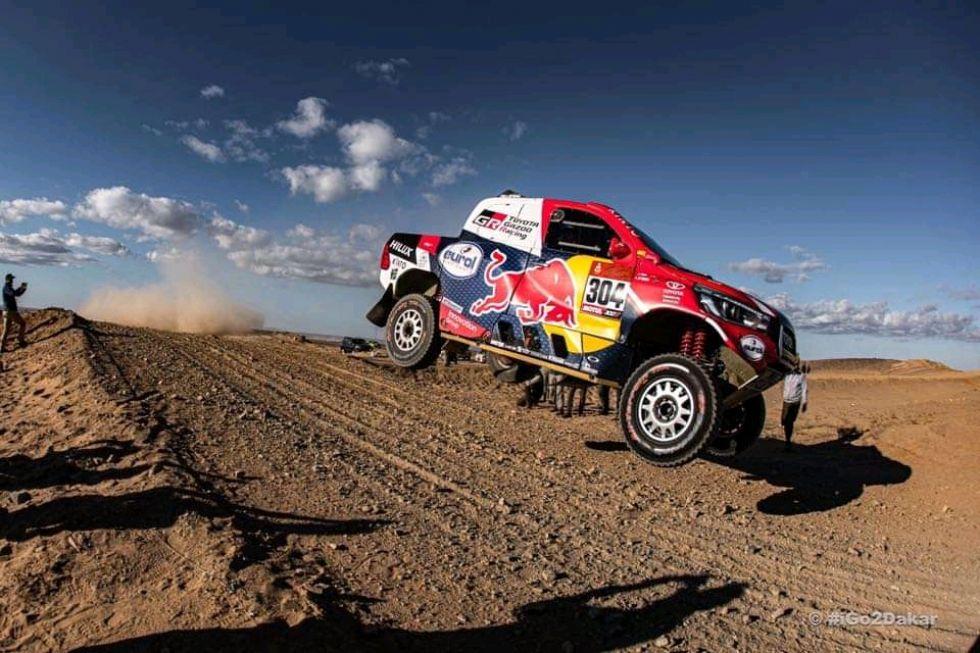 El Dakar en impresionantes instantáneas.