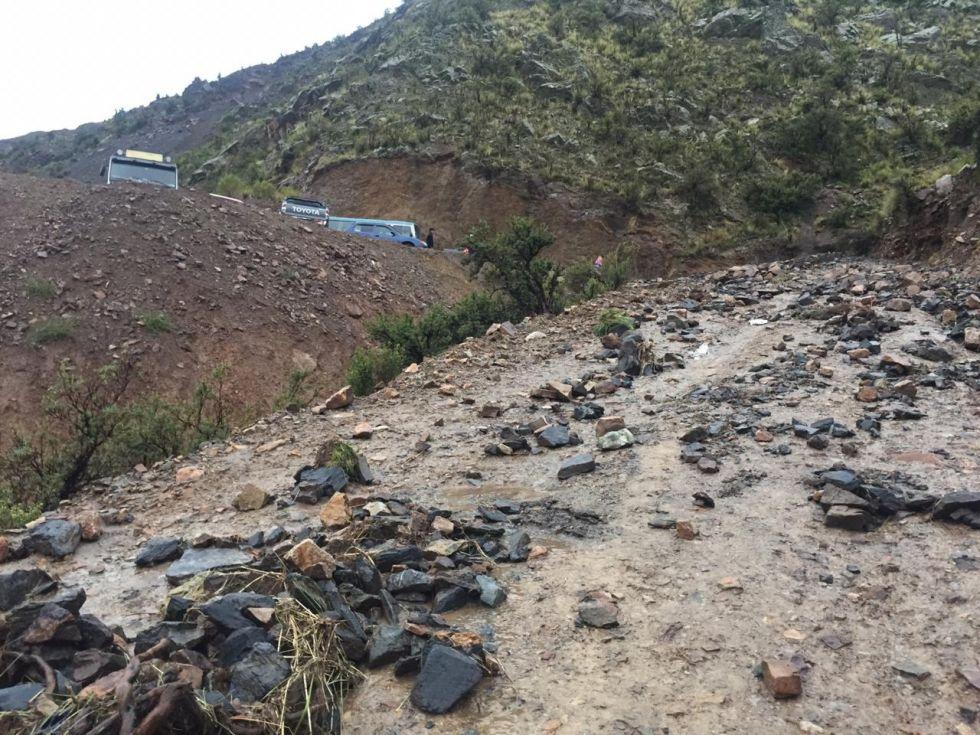 La tormenta causó un sifonamiento, crecida de ríos y derrumbes.