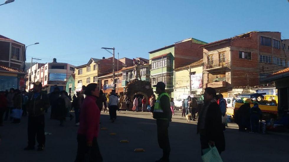 Los mercados de la ciudad de Potosí.