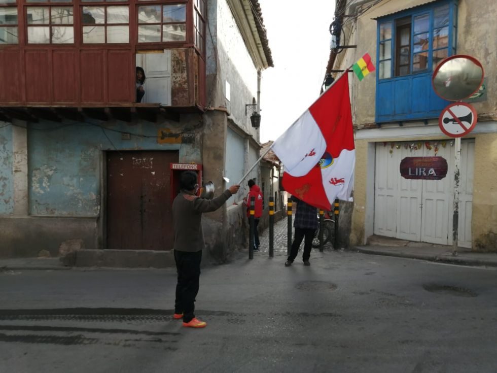 La protesta inició a las 16:00 en varias zonas y duró una hora