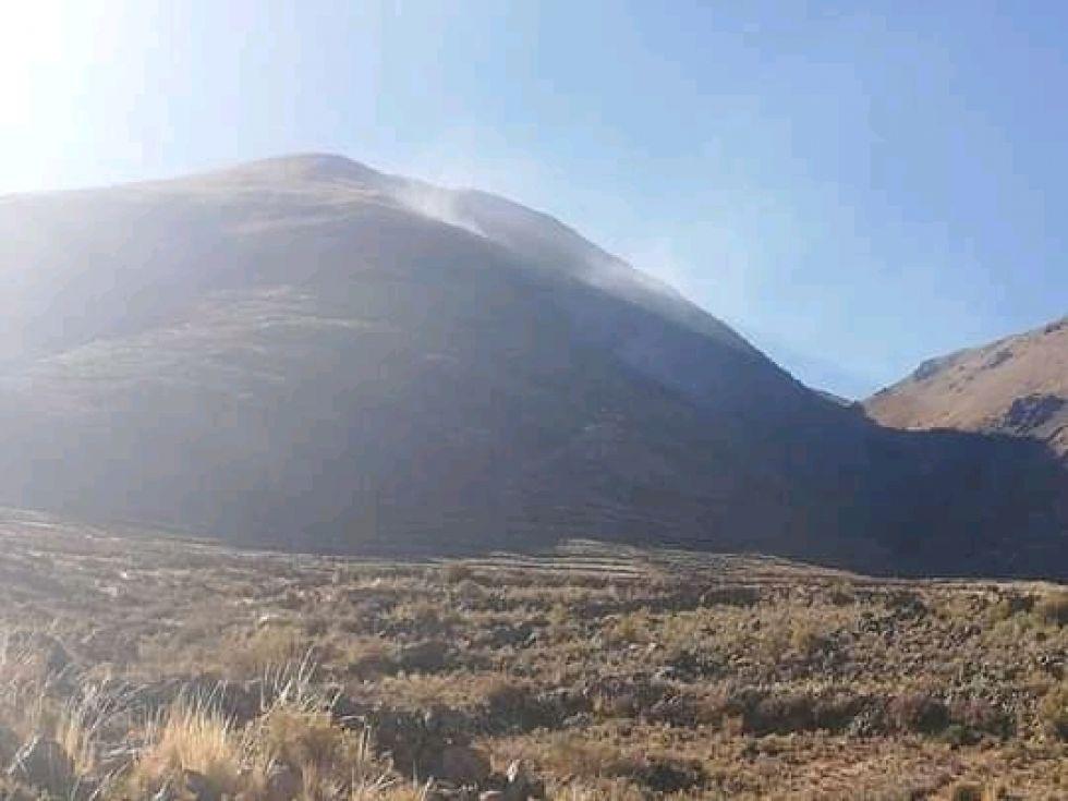 Ahora, así se ve el monte.