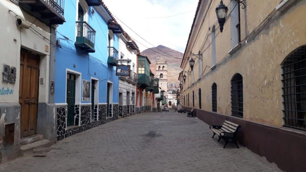 Primera tarde del encapsulamiento en Potosí