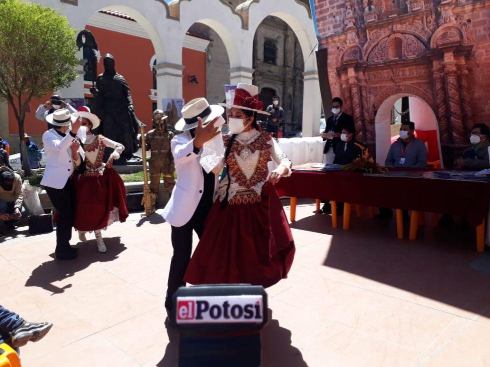 Después de mucho tiempo, hubo actividad cultural en Potosí