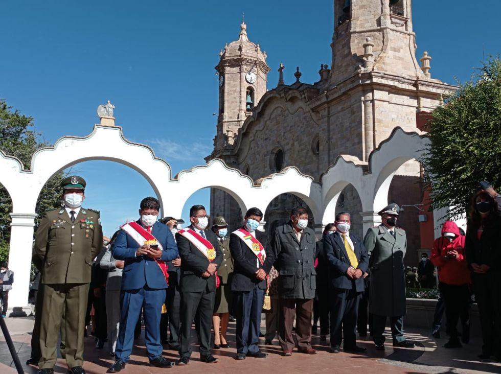 Actos protocolares sin desfiles marcan homenaje al 1º de Abril