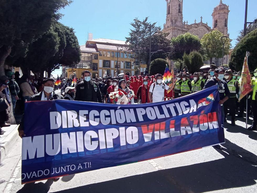 Jhonny Mamani asume el cargo de gobernador de Potosí