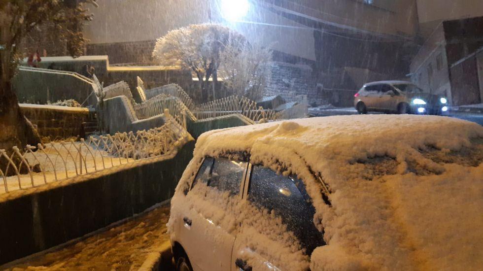 La nieve cubrió la ciudad el 3 de agosto