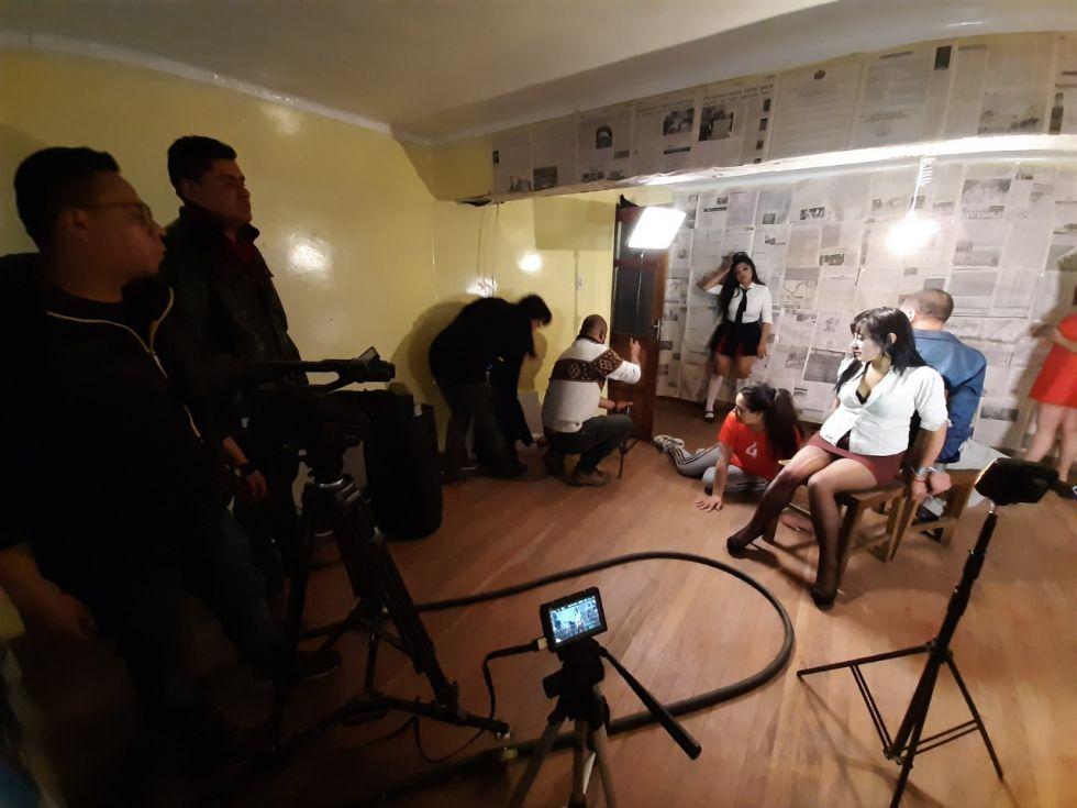 La filmación