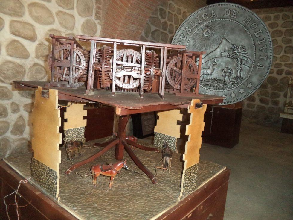 Museo en miniatura en la Casa de Moneda
